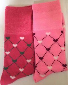 6-PAIRS-NON-ELASTIC-DIABETIC-LADIES-HEART-DESIGN-LOOSE-SOFT-TOP-COTTON-SOCKS