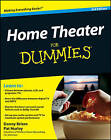 Home Theater For Dummies by Pat Hurley, Danny Briere (Paperback, 2008)