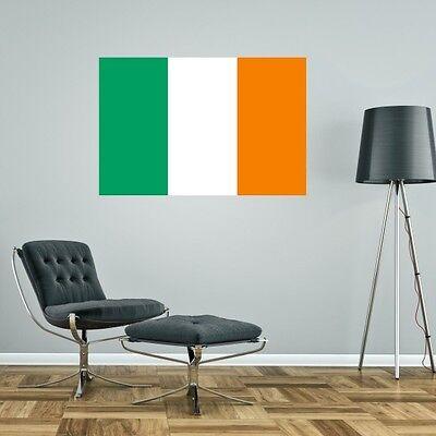 Ireland Flag Vinyl Decal Sticker ** 5 Sizes **