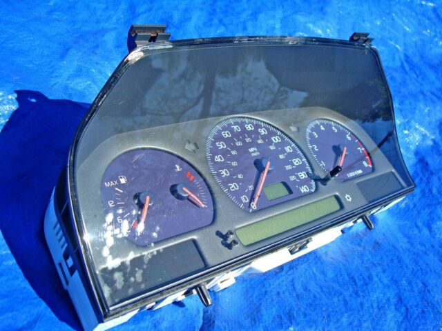 1999 Volvo S70R V70R R C70 OEM 1 Year Only Blue Gauges Cluster Speedometer Rare!