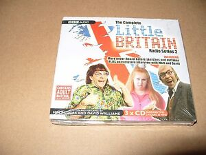 DéLicieux Little Britain The Complete Radio: Série 2 Par David Walliams, Matt Lucas 3 Cd-afficher Le Titre D'origine