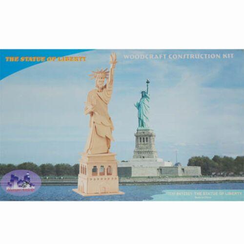 holzbausatz Statue Liberty Freitheitsstatur Holzbausatz Bausatz Holz Modellbau