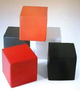 Pouf Cubo.Dettagli Su Pouf Cubo Vari Colori