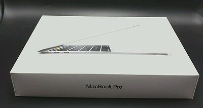 """13/"""" APPLE MACBOOK PRO EMPTY BOX With Maual Silver Touch Bar Model A1706"""
