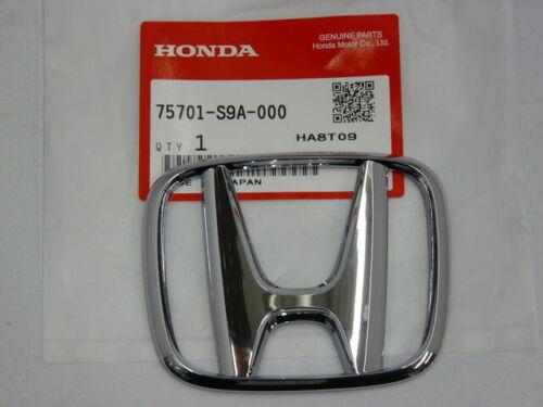 Emblem 75701-S9A-000 H Genuine Honda Rear