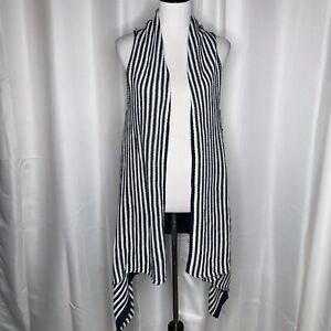 Vertigo-Striped-Drape-Open-Front-Sweater-Vest-Sz-Lg-240-00-Retail