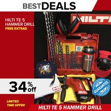 Hilti Te 5 Hammer Drill Free Bits Coofee Mug Extras Quick Shipping