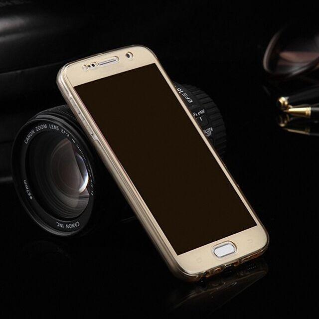 finest selection d8a51 6008a Samsung Galaxy S4 Full Body 360 Silicone Protective Case Cover Case Gold