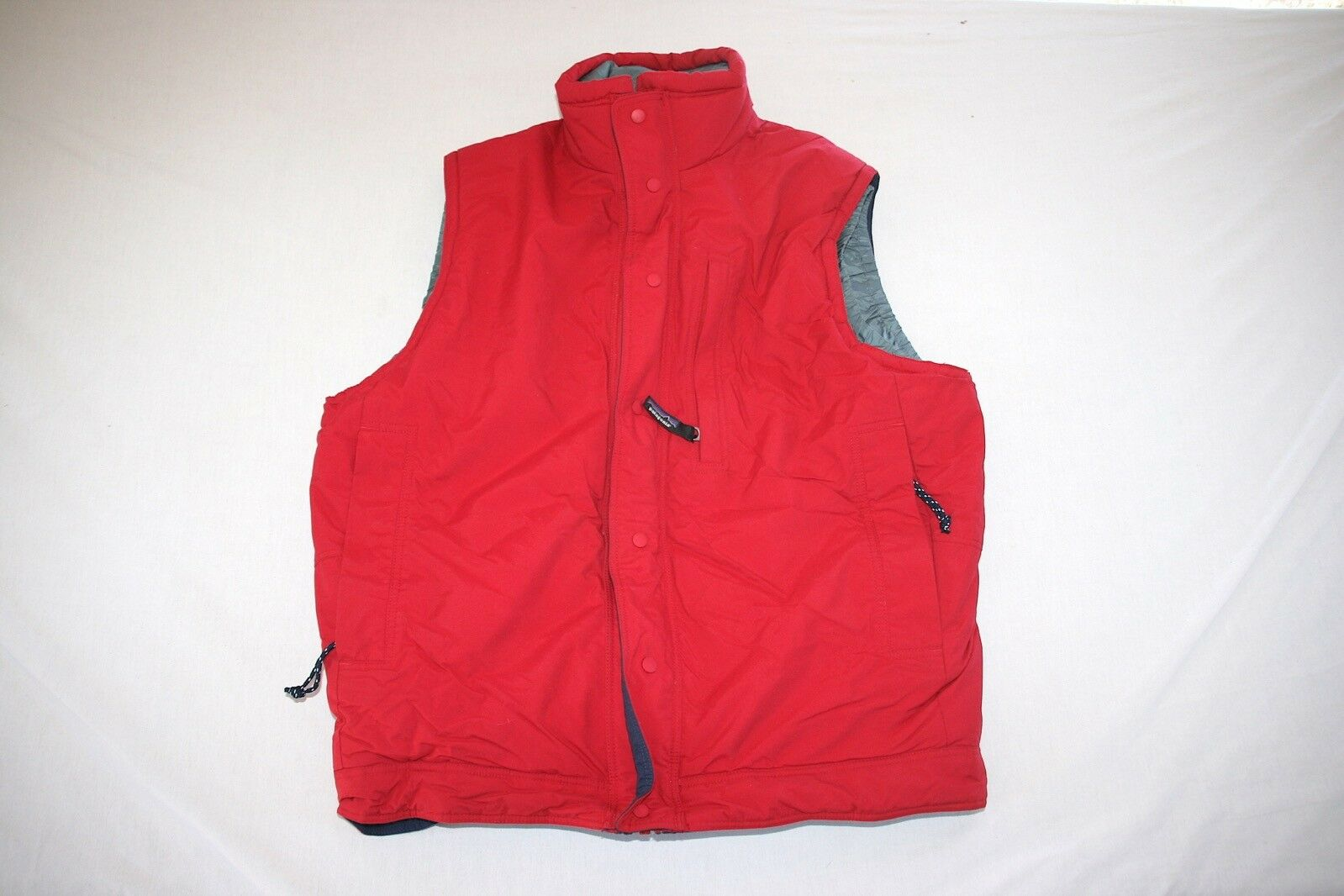 Patagonia Vest Lined Nylon Cold Weather Men S Red NEW
