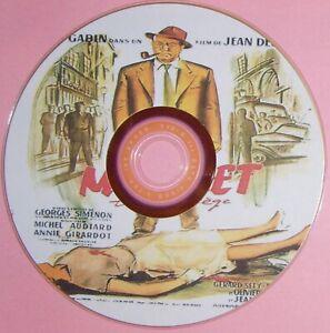 WORLD CRIME / NOIR 56: MAIGRET TEND UN PIÈGE / MAIGRET SETS A TRAP (1958) Fra
