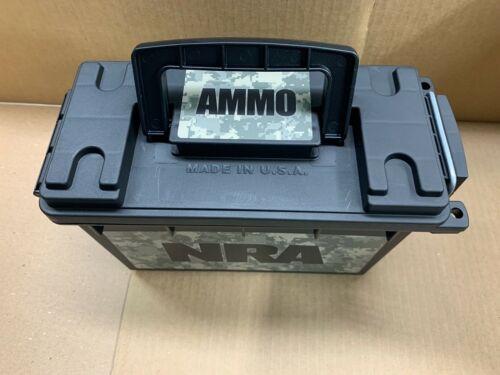 NRA Ammo Storage Box Ammunition Holder Military 3 locking points Plastic Case