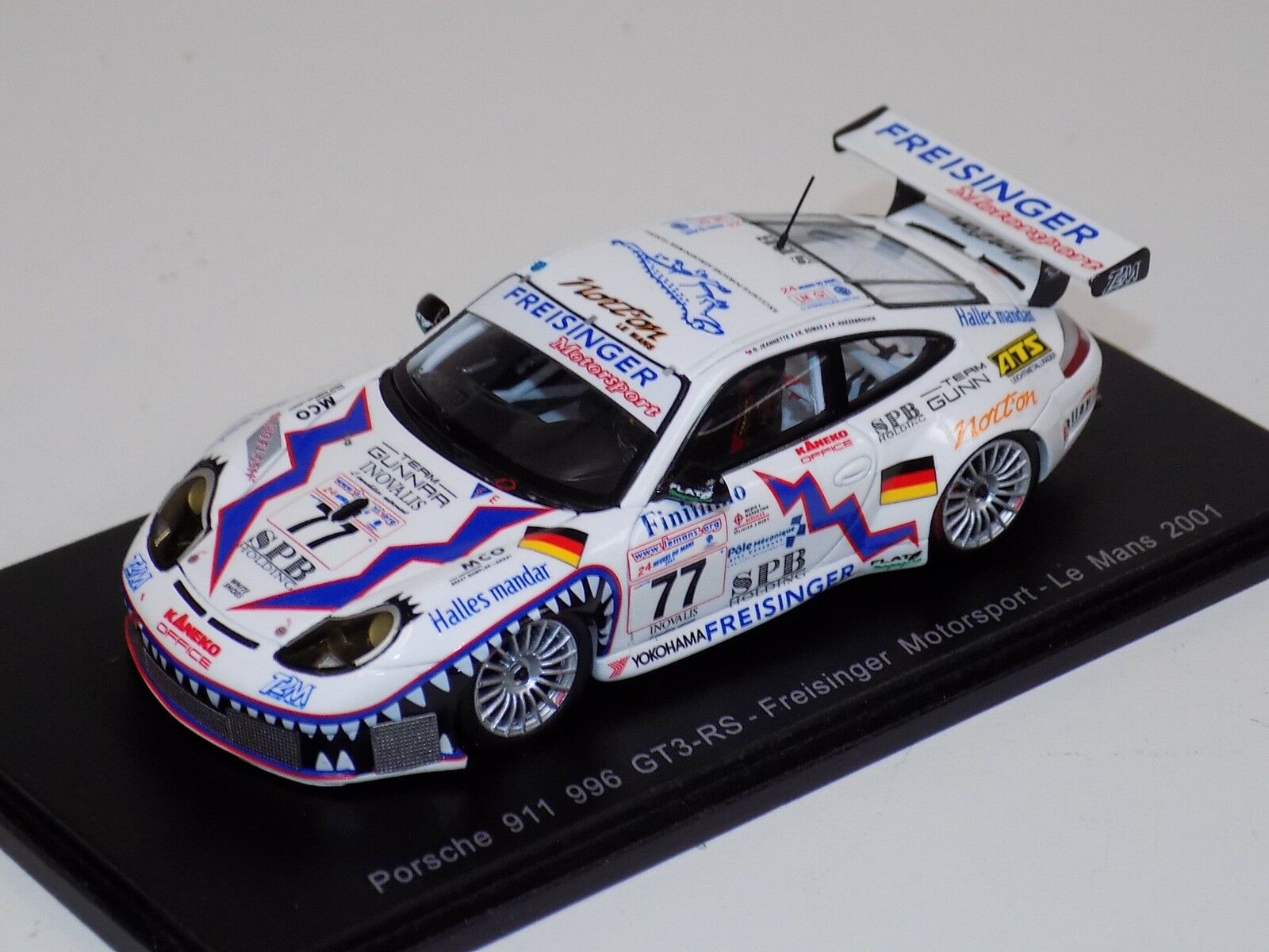 1 43 Spark Porsche 911  996  GT3 RS coche horas de LeMans S4760