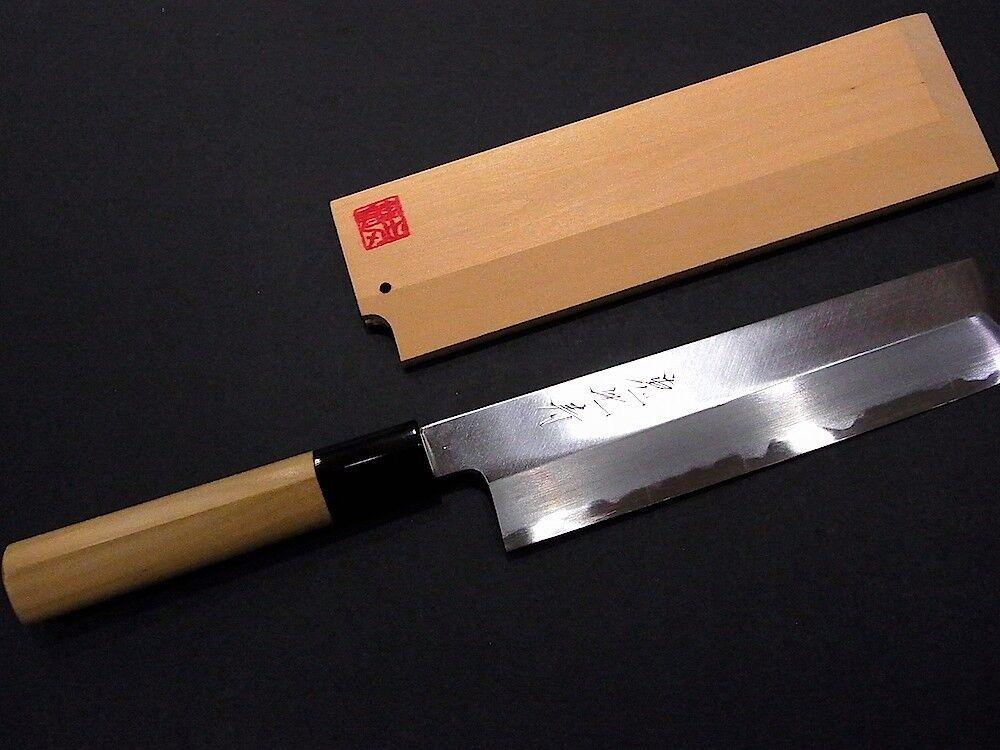 YEBISU YAIBA chef knife USUBA 180mm w w w  SAYA cover Japanese Handcrafted HQ 6e941d