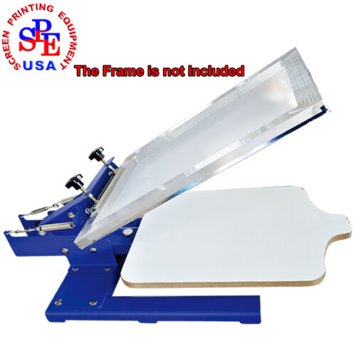 Single Color Screen Printing Machine One Color Screen Printing Press  Equipment