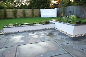 Image Is Loading Strata Whitchurch Black Lime Limestone Paving Slab 15