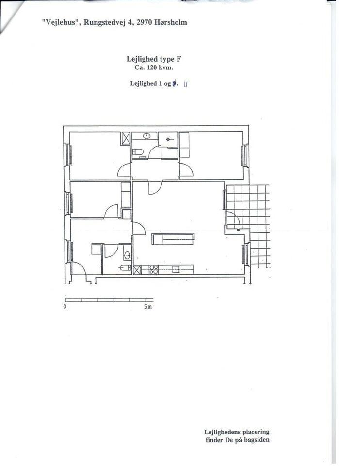 2970 4 lejlighed, 102, Rungstedvej