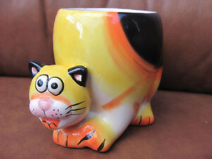 Cat-Tiger-orange-and-black-colourful-collectable-mug-UK-P-amp-P-inc