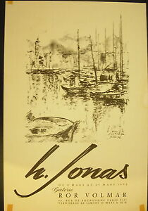 Affiche Exposition Hans Jonas Galerie Ror Volmar Plus De Rabais Sur Les Surprises