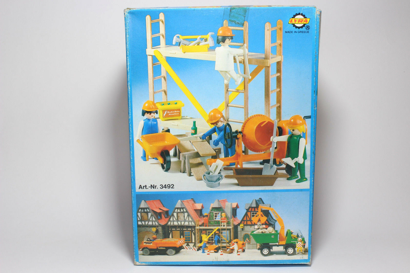 VERY RARE Bulldozer Bulldozer Bulldozer Playmobil Nr 3507 LYRA GREECE 1980 EARTHWORKERS SEALED BAG 7ae889