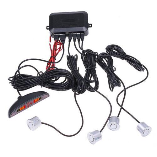 Parking Sensors Car Reverse Backup Rear Buzzer Radar System Kit Sound Alarm