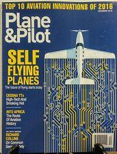 Plane & Pilot December 2016 Self Flying Planes Cessna TTx FREE SHIPPING sb