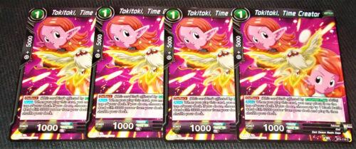 x4 Tokitoki Time Creator BT4-119 Common Dragon Ball Super TCG Near Mint