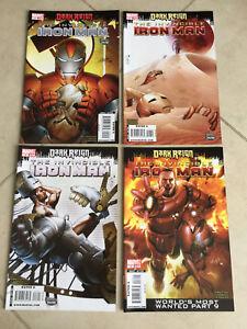 MARVEL-COMICS-DARK-REIGN-THE-INVINCIBLE-IRON-MAN-16-19-4-COMICS