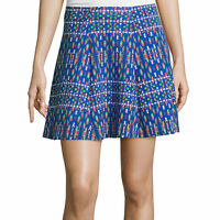 Decree Scuba Skater Skirt Size Xs, S, M, L, Xl Throwbackblue With Tags