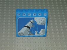 LEGO Classic Space Brick 3754pb01  1 x 6 x 5 LL2079 Rocket and Moon Pattern 6970
