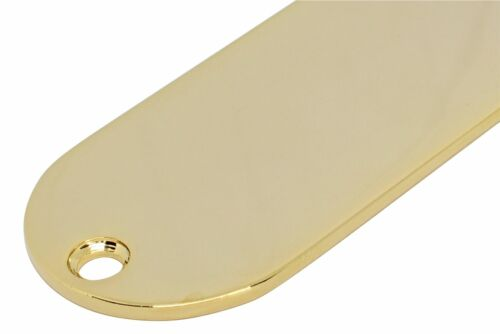 """Tele Control Plate .080/"""" thickness NO HOLE Gold screws not included"""