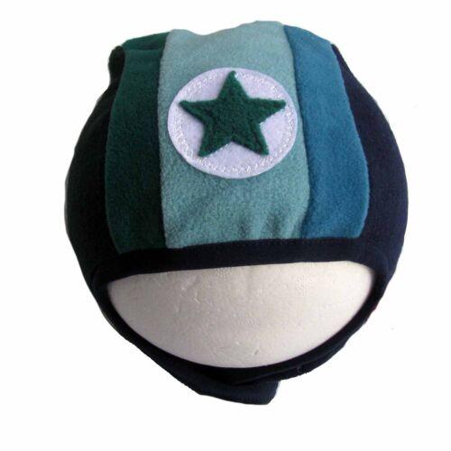 50-98 NEU Kik-Kid Mütze Hat Fleecemütze warm Stern Speedy Goof Fleece  Gr