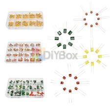 100960pcs Electronic Ceramic Capacitor Kit Polyester Film Capacitor Assortment