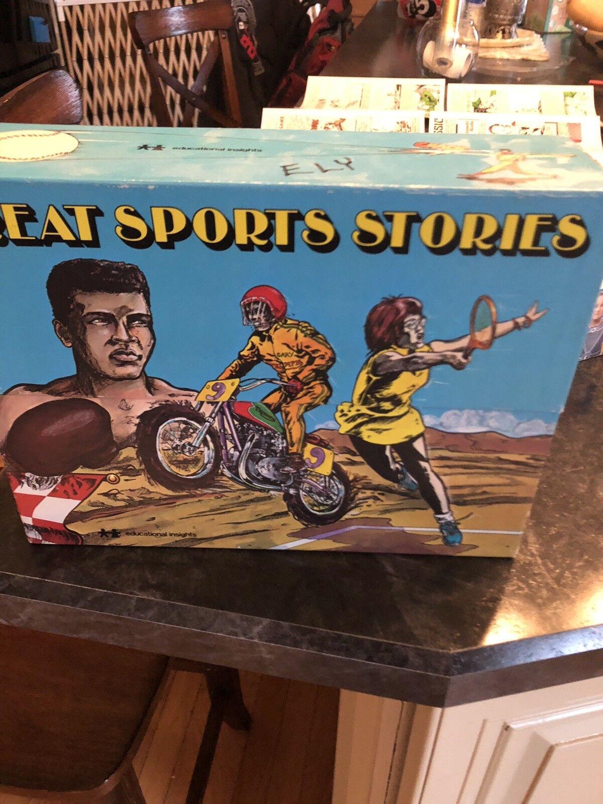 Educational Insights Vintage 1978 Reading Comprehension Kit Kareem, Jesse Owens