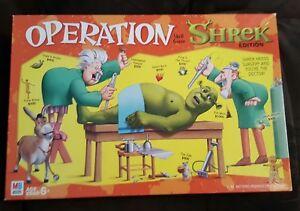 2004-Operation-Shrek-Board-Game-milton-bradley-hasbro-free-shipping
