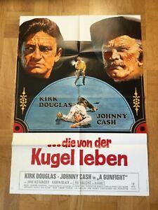 A-Gunfight-die-von-der-Kugel-leben-Plakat-039-71-Kirk-Douglas-Johnny-Cash