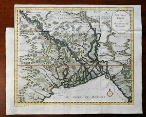 Kingdom-of-Bengal-India-Ganges-Delta-Aracan-1791-Dutch-engraved-map-hand-color