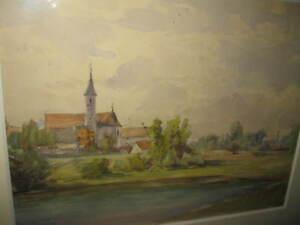 WEBER-Paul-1823-Wundervoller-Blick-ueber-Dorflandschaft