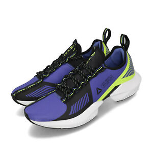 Reebok-Sole-Fury-TS-Purple-Black-Neon-Lime-Mens-Running-Shoes-DV9289