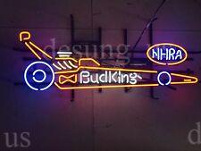 """New Bud King NHRA Racing Car Neon Sign 32""""x20"""" Ship From USA"""