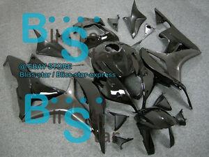 Black-Glossy-INJECTION-Fairing-Bodywork-Kit-Fit-HONDA-CBR600RR-2007-2008-038-A2