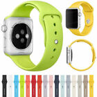 Sports Silicone Strap For Apple Watch Band 38mm/42mm