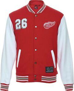 Fleece Cotland EraNhl Letterman New Detroit Wings Jacke Red Ybf7gy6