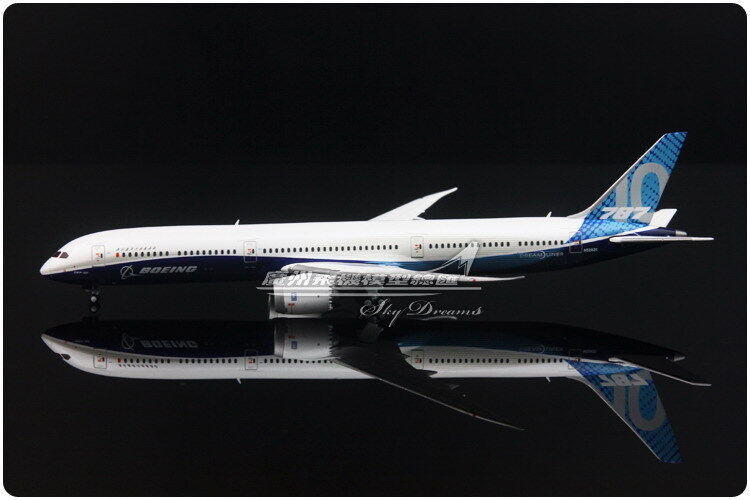 1 400 JC vingeS DREAM LINER BOEING 787 -10 Passagerarplan plan tärningskast modelllllerlerl