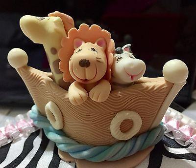 NOAH'S ARK BABY SHOWER MINI TOPPER DIAPER CUPCAKES FAVOR GIFT BIRTHDAY PARTY