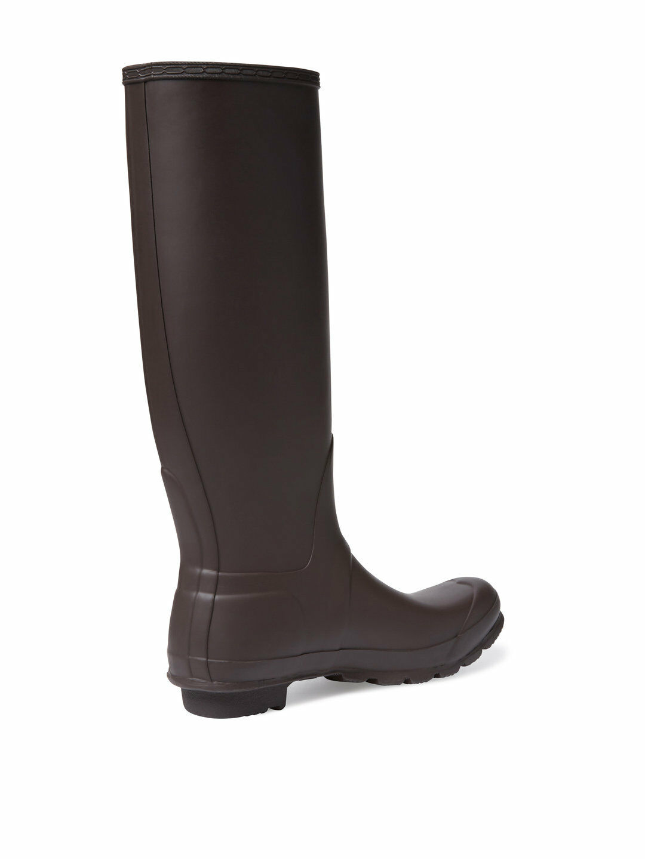 Nuevo Para De mujeres botas Impermeables De Para Lluvia Hunter Original Alto Negro mate Tamaño 10 1c8a0d