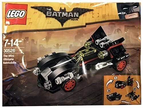 LEGO The Batman Movie THE MINI ULTIMATE BATMOBILE Polybag 30526 Set