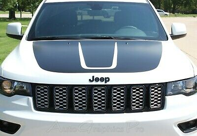 JEEP GRAND CHEROKEE JEEP COMPASS HOOD DECAL STRIPE SET CHOOSE COLOR