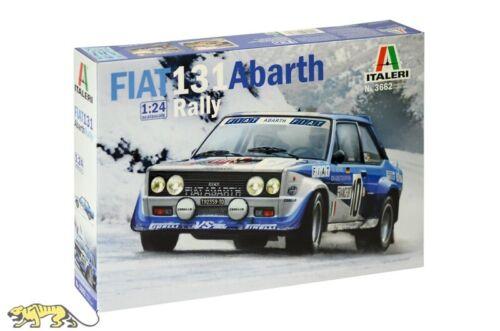 1:24 Italeri 3662 Fiat 131 Abarth Rally