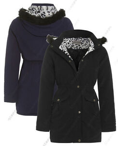 NEW-GIRLS-JACKET-FUR-COAT-Quilted-HOODED-PARKA-SCHOOL-AGE-7-8-9-10-11-12-13