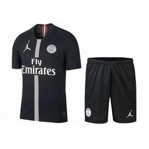 huge selection of 00cf2 ed9bf Details about Paris Saint-Germain Jordan Soccer PSG Jerseys Champions  League Patch SIZE 26 NWT